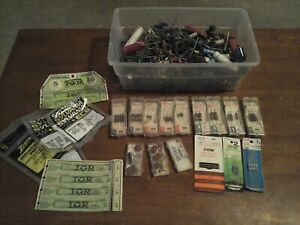 Lot Of Vintage Carbon Resistors Diode Thousands 6 Pounds Worth