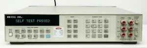 Hp Agilent Keysight 3458a 8 5 Digit Multimeter Calibrated With Data