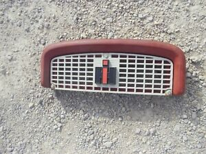 International 460 Ih Utility Tractor Front Nose Cone Hood Bonnet Grill Emblem
