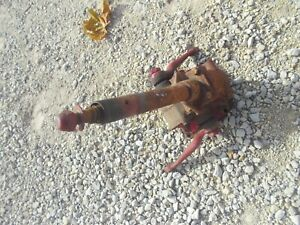Ford 8n Tractor Steering Gear Box Assembly W Arms Acorn Nut Ready To Use