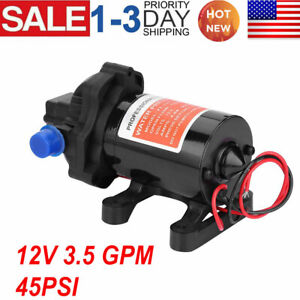 Dc 12v Water Pump Self Priming Pump Diaphragm High Pressure Automatic Switch Hot