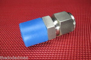 Brennan 1 2 Tube Od X 1 2 Npt Male Pipe Straight Connector 316 Stainless Steel
