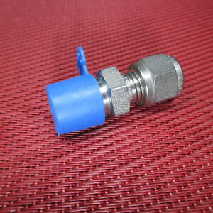 Ssp Grip 1 4 Tube Od X 1 4 Npt Male Pipe Straight Connector 316 Stainless Steel