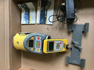 Spectra Precision Dg613 Red Beam Pipe Laser Dialgrade trimble Rc803 Remote