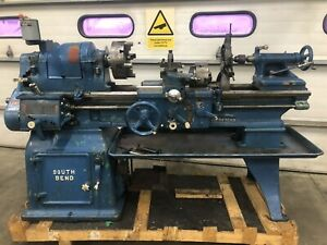 South Bend 16 x36 Metal Lathe Gunsmith 3 4 Jaw Taper Steady Rest Tooling 1ph