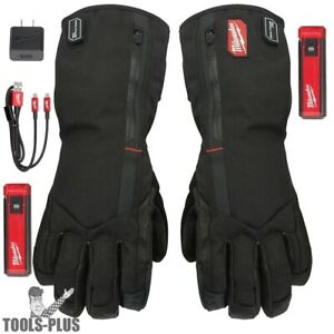 Milwaukee 561 21l Usb Rechargeable Heated Work Gloves Large New