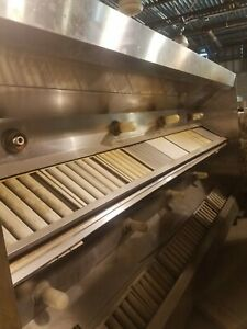 Nsf Restaurant Commercial Kitchen Exhaust Hood No Fans