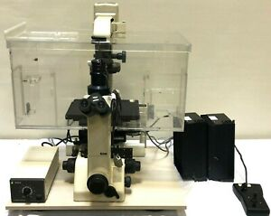 Nikon Diaphot 300 Inverted Phase Contrast Research Microscope W Case