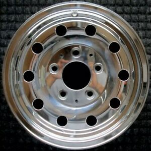 Ford Bronco Polished 15 Inch Oem Wheel 1994 1996 F4tz1007a Remanufactured
