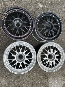 Bbs E88 18x11 5 3 Piece Centerlock Wheels set Of 4 Porsche Vw Volkswagen Bmw