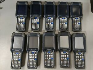 Lot Of 10x Intermec Ck3x Ck3xaa5k000w4100 Barcode Scanner Mobile Computer Ck3