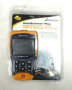 Actron Cp9680 Autoscanner Plus Obd Ii Scan Tool Codeconnect With Abs And Airbag