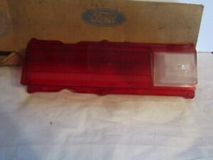 1970 Mercury Marquis Lh Tail Light Lens Nos Ford