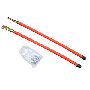 24 Orange Guide Markers For Western Snow Plows 59694 62595