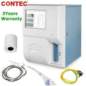 Contec Touch Automatic Hematology Analyzer Blood Cell Count platelets hemoglobin