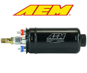 Aem Electronics High flow External Electric Fuel Pump 50 1009
