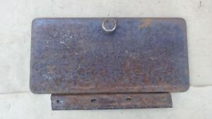 1948 1953 Dodge Truck Glove Box Door W Hinge Knob Original Pickup Panel