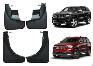 Oem Front Rear Molded Splash Guard Mud Flaps For 2011 2018 Jeep Grand Cherokee