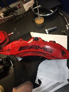 2014 Mercedes Amg G63 6 Piston Brembo Front Calipers And Rotors
