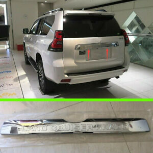 Rear Trunk Lid Cover Trim Chrome Abs For Toyota Land Cruiser Prado Fj150 2018
