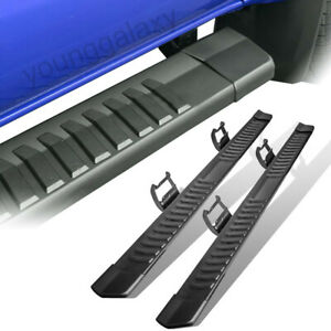 For 6 15 19 Ford F150 Truck Running Boards Nerf Bars Side Step Black Crew Cab