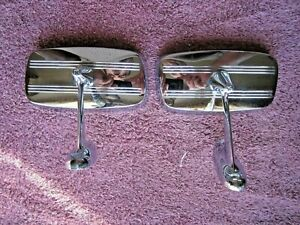 Vintage Nos Pair Joma 177 Side Mirrors Chevrolet Ford Dodge Rat Rod Hot Rod