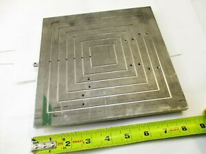 Microscope Vacuum pneumatic Stage Plate Wafer Manufacturing 8 X 8
