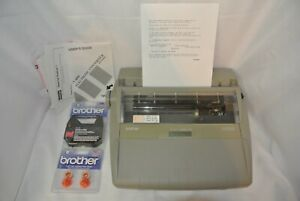 Brother Sx 4000 Daisywheel Electronic Dictionary Typewriter tested working
