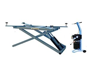 Phoenix 6000 Lbs Portable Mid Rise Scissor Lift With Free Adapter For Sale