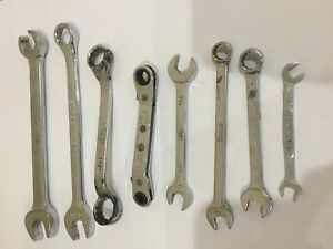 Wrenches Mixed Lot Snap On Klein Blue Point Mac All Sae