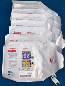Lot Of 8 Zoll Stat padz Adult Electrodes Model 8900 4004 New