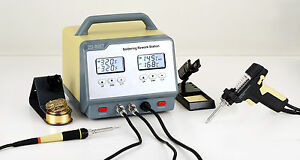 Lead Free Station Desoldering Welder With Screen Lcd Zd 8917