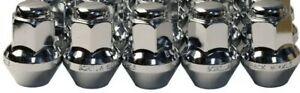 5 Gorilla Large Seat Oem Oe Stock Wheels Lug Nuts 14x1 5 M14 Acorn Rims C