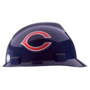 Msa 818389 V gard Nfl Cap Style Hard Hat Chicago Bears