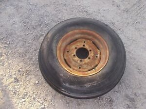 International 460 560 Utility Tractor Ih Front Rim 7 50 X 16 Dunlop Tire 6ply