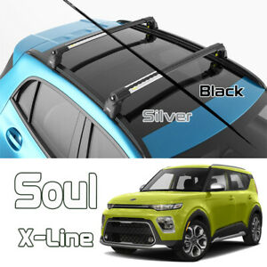 Kia Soul X Line Roof Rack Bars Cross Bar Silver Color 2020