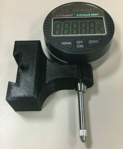 Mini Lathe Dial Indicator Mount For Quick Change Tool Post 3d Printed