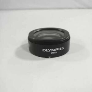 1pc Used Olympus Microscope 110al0 62x Auxiliary Lens For Sz51 Sz61 Sz30sz40sz60