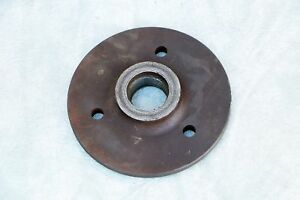 Lathe Chuck 6 Diameter Threaded Adapter Plate Mount Self centering Spindle