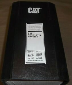 Cat Caterpillar D6t Crawler Tractor Dozer Service Shop Repair Book Manual