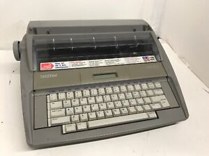 Brother Sx 4000 Electronic Typewriter Lcd Display For Parts Not Working