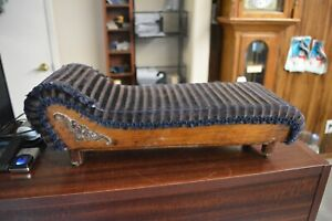 Victorian Era Antique Salesman Sample Couch Lounge Sofa