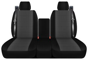 Front Set 40 20 40 Car Seat Covers Fits Ford F150 Truck 2004 2008 Select Style