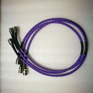 Lot 3 Gore Oszkuzku036 0 Coax Cable N m n m Dc 18ghz 36 Inches