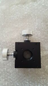 Mitutoyo Micro Stage X y Axis Positioner With Mitutoyo Micrometers