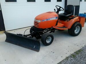 Simplicity Legacy Xl Sub compact Tractor W Mower Snow Blade Plow 4x4