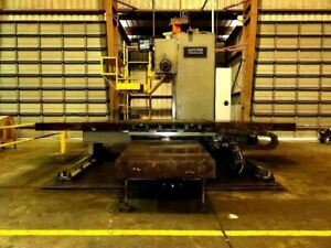 1979 Lucas Model 40 t Cnc Horizontal Boring Mill Video s Available Upon Reques