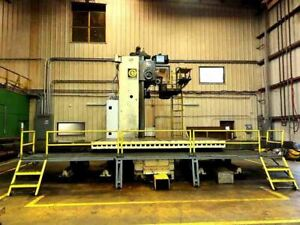 1975 Giddings Lewis 70 h6 t Cnc Horizontal Boring Mill Video s Available
