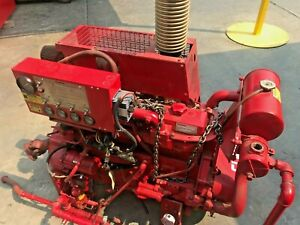 Clarke Diesel Fire Fight Water Pump
