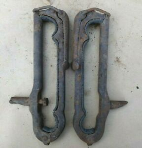 1909 1927 Top Bow Saddles Clamps Original Pair 439 Model T Ford Dodge